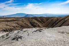 Borowinowy wulkan Zdjęcia Stock
