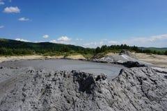 Borowinowy wulkan Obrazy Stock