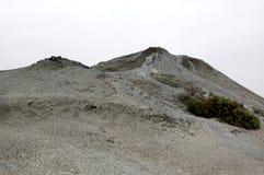 Borowinowy wulkanu skłon zdjęcie stock