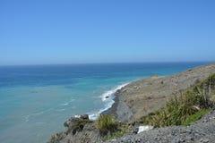 Borowinowy zatoczki obruszenie - wielkiego osunięcie się ziemi duży sura, California Obrazy Royalty Free