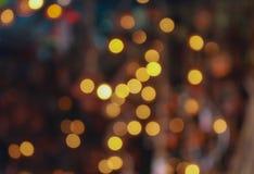 Borrão abstrato Lightnd do bokeh Imagens de Stock