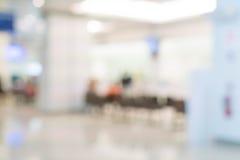 borrão abstrato no hospital Foto de Stock