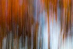 Borrão alaranjado e azul vertical Fotos de Stock Royalty Free