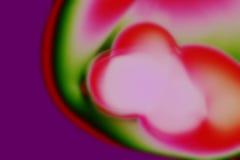 Borrão da cor-de-rosa, o verde & o malva Imagens de Stock Royalty Free