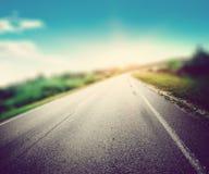 Borrão da estrada da maneira da velocidade fotografia de stock
