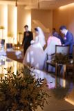 Borrão da foto do casamento foto de stock royalty free