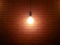 Borrão da lâmpada do teto Fotos de Stock
