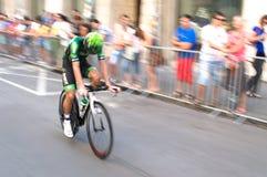 Borrão das bicicletas Fotografia de Stock