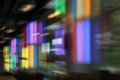 Borrão de movimento colorido Fotos de Stock Royalty Free