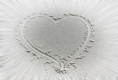 Borrão de movimento do coração Fotos de Stock Royalty Free
