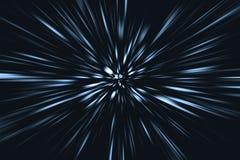 Borrão de movimento rápido rápido que move-se para o conceito futuro imagem de stock