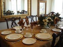 Borrão dinning morno e macio Imagens de Stock Royalty Free