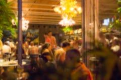 Borrão do restaurante imagens de stock royalty free