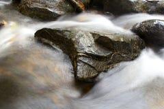 Borrão do rio Fotografia de Stock Royalty Free