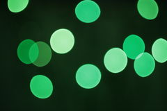 Borrão verde Foto de Stock