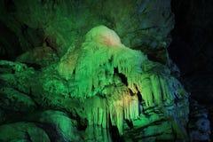 Borra洞, Araku谷,安得拉邦,印度 免版税库存照片