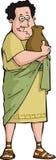 Borrachín romano stock de ilustración
