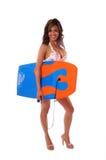Borracho 6 da placa da dança Fotografia de Stock Royalty Free