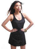 Borracho asiático 'sexy' Imagem de Stock