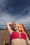 Borracho da praia Fotos de Stock Royalty Free