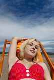 Borracho da praia Foto de Stock Royalty Free