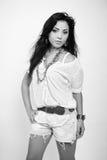 Borracho latino-americano 'sexy' novo foto de stock