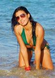 Borracho novo da praia Foto de Stock