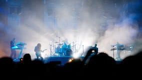 Borrachos do açúcar no concerto Imagens de Stock
