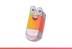 Borrador lindo Emoji feliz Fotos de archivo