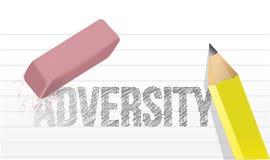 Borradura de diseño del ejemplo del concepto de la adversidad libre illustration