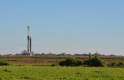 Borrande för naturgas Arkivbild
