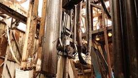 Borranderigg, hydraulisk key_7 arkivfilmer