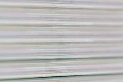 Borre o movimento da cor do detalhe e da camada abstratas de papel do livro Fotografia de Stock Royalty Free