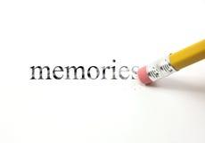 Borre sus memorias imagen de archivo libre de regalías