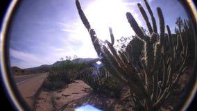 Borrego Desert Highway California. USA stock footage