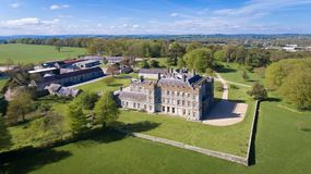 Borris House. Borris. county Carlow. Ireland. Family Home of the macMurrough Kavanaghs and weddings venue royalty free stock photography