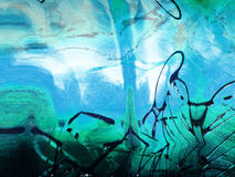 Borrão nervoso da pintura do Grunge Fotografia de Stock