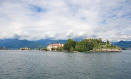 Borromean-Inseln - Insel Isola Bella Beautiful auf See Maggiore - Stresa Stockbilder