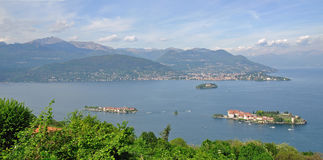 Borromean Islands,Isola Bella,Lake Maggiore Stock Images