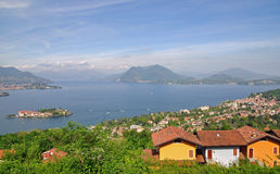 Borromean Islands,Isola Bella,Lake Maggiore Stock Photography