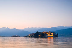 Borromean islands, Italy Stock Images