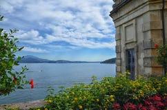 Borromean-Palast-Isola Bella-Italien 3 lizenzfreies stockbild