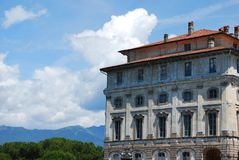 borromean slott arkivfoto