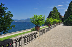 Borromeo botanical gardens, Isola bella Stock Photo