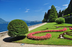 Borromeo botanical gardens, Isola bella Royalty Free Stock Photography
