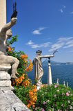 Borromeo botanical gardens, Isola bella. Royalty Free Stock Photo