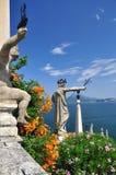 Borromeo botanische Gärten, Isola bella. lizenzfreies stockfoto