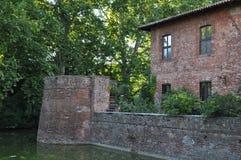 Borromeo castle Stock Photo
