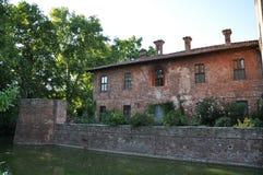 Borromeo castle Royalty Free Stock Photos