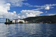 Borromeo pałac. Isola Bella, jeziorny Maggiore Obrazy Royalty Free
